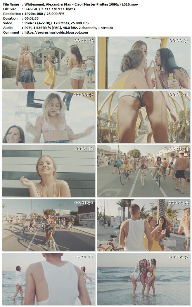 Whitesound, Alexandra Stan – Ciao