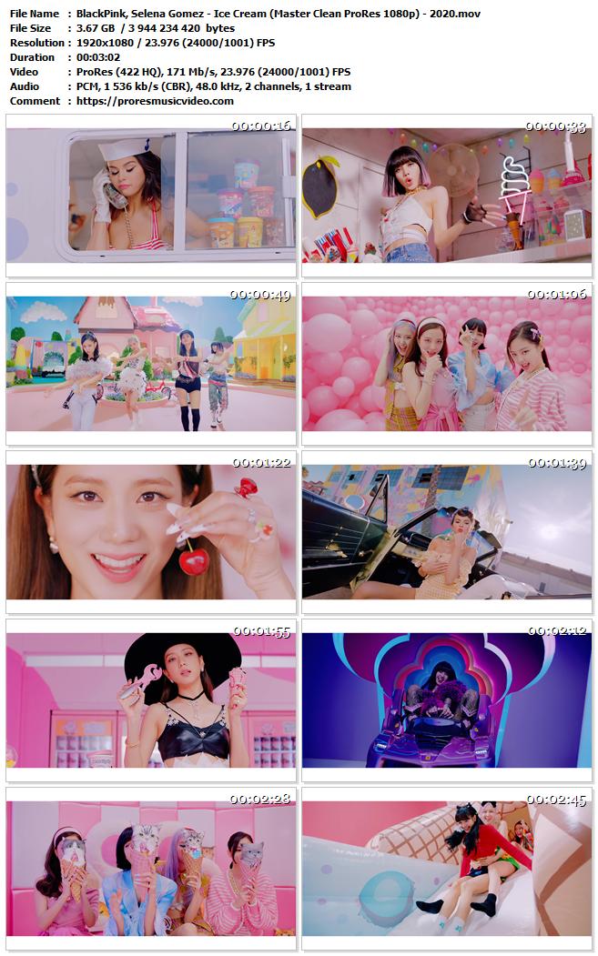 BlackPink, Selena Gomez – Ice Cream