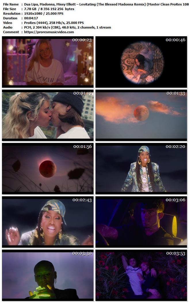 Dua Lipa Ft Madonna,Missy Elliott – Levitating