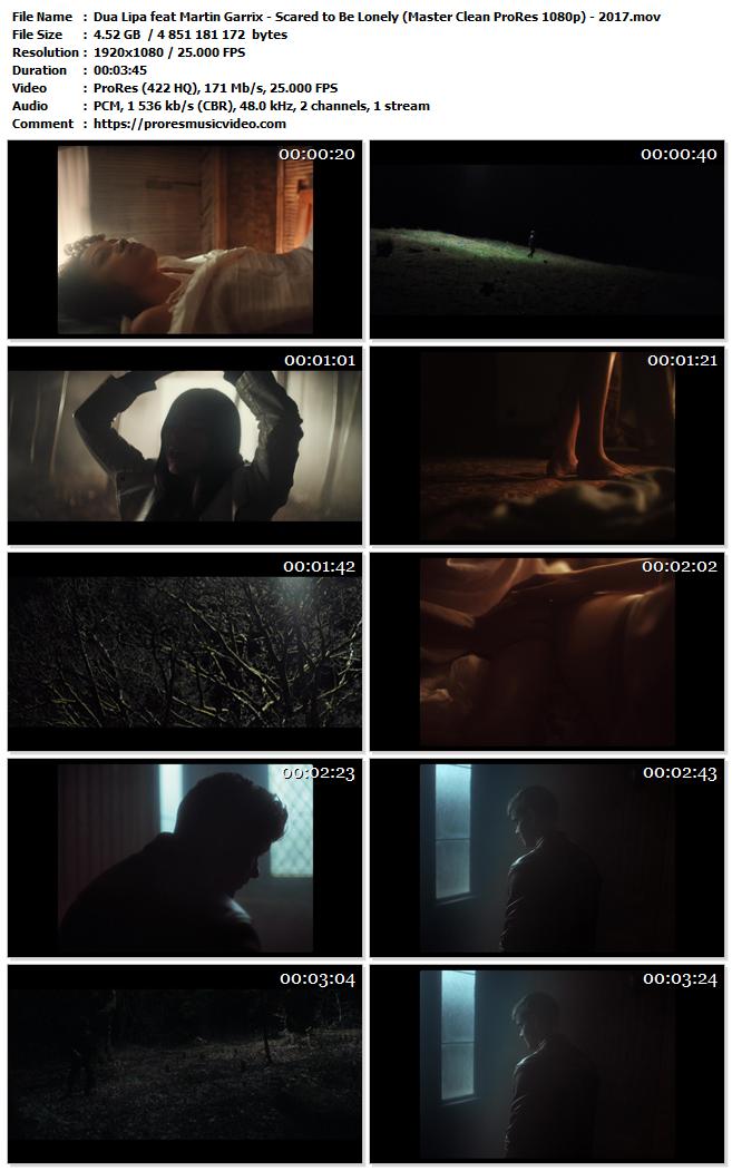 Dua Lipa feat Martin Garrix – Scared to Be Lonely