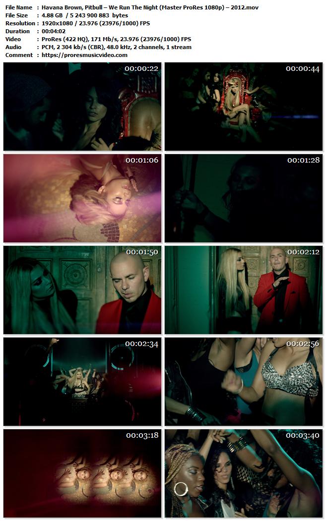 Havana Brown, Pitbull – We Run The Night