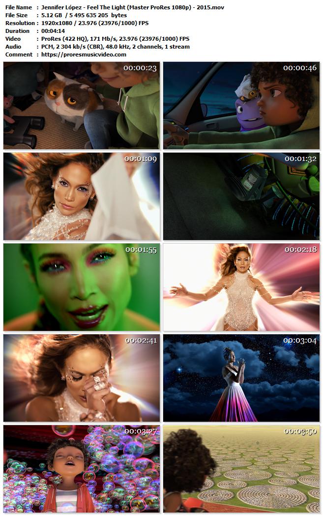Jennifer Lopez – Feel The Light