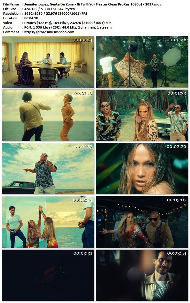 Jennifer Lopez, Gente De Zona – Ni Tu Ni Yo