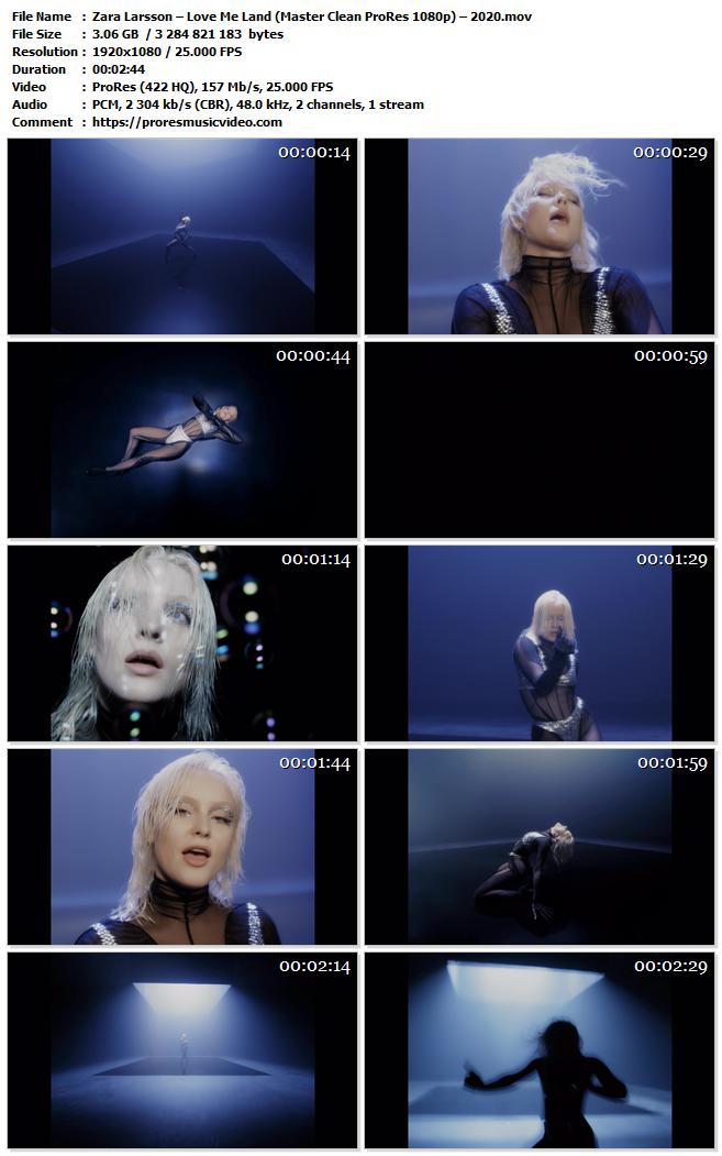 Zara Larsson – Love Me Land
