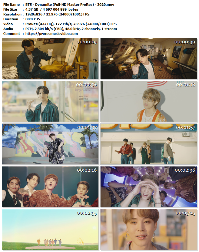 BTS – Dynamite (Exclusive)