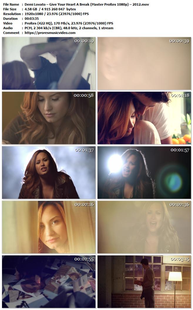 Demi Lovato – Give Your Heart A Break (VIP)