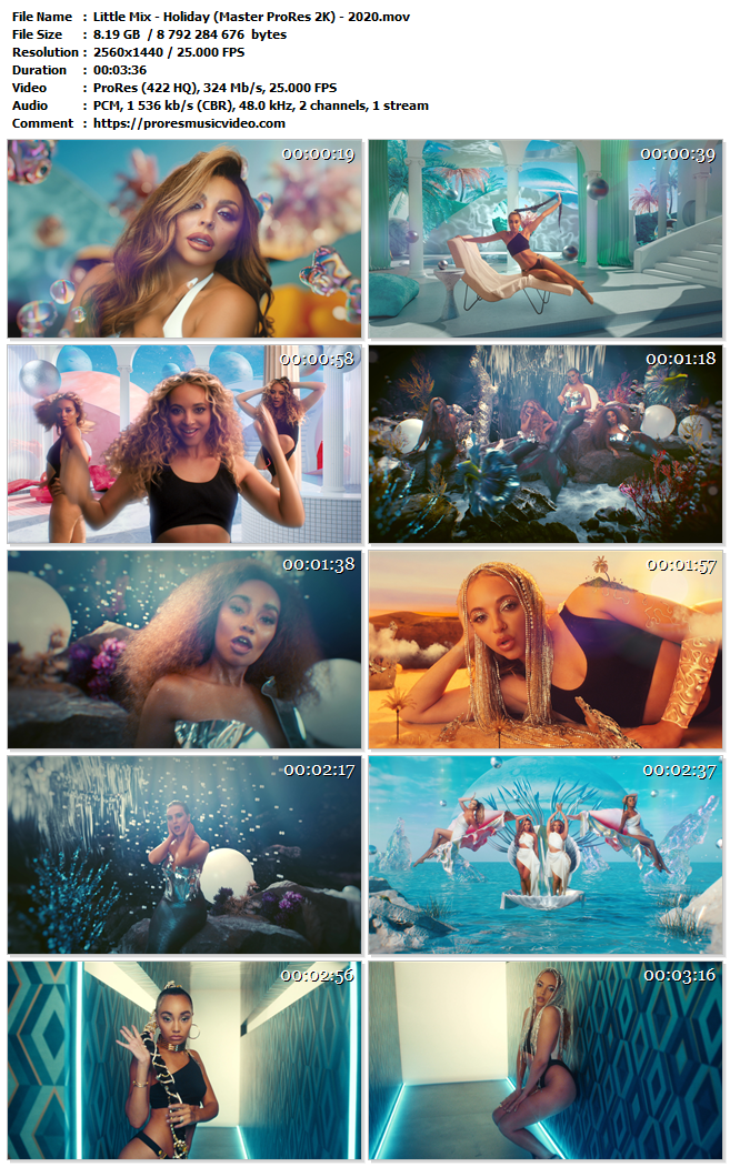 Little Mix – Holiday (VIP)