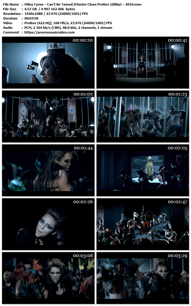 Miley Cyrus – Can't Be Tamed