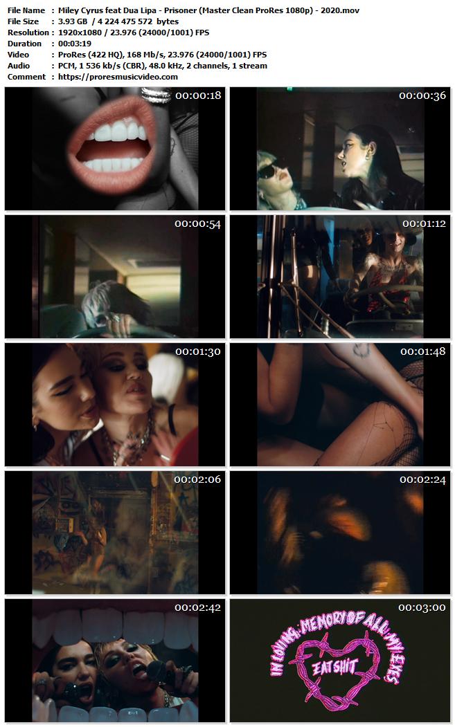 Miley Cyrus feat Dua Lipa – Prisoner (Exclusive)
