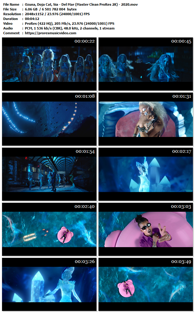 Ozuna, Doja Cat, Sia – Del Mar (Exclusive)