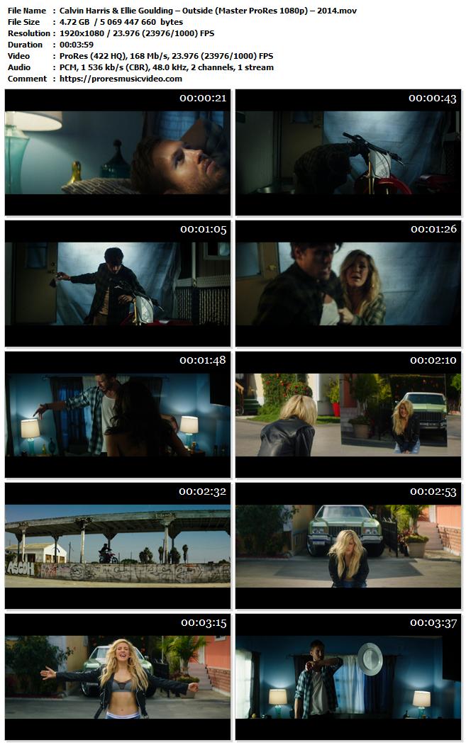 Calvin Harris & Ellie Goulding – Outside