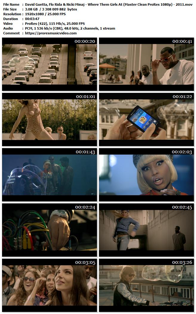 David Guetta, Flo Rida & Nicki Minaj – Where Them Girls At