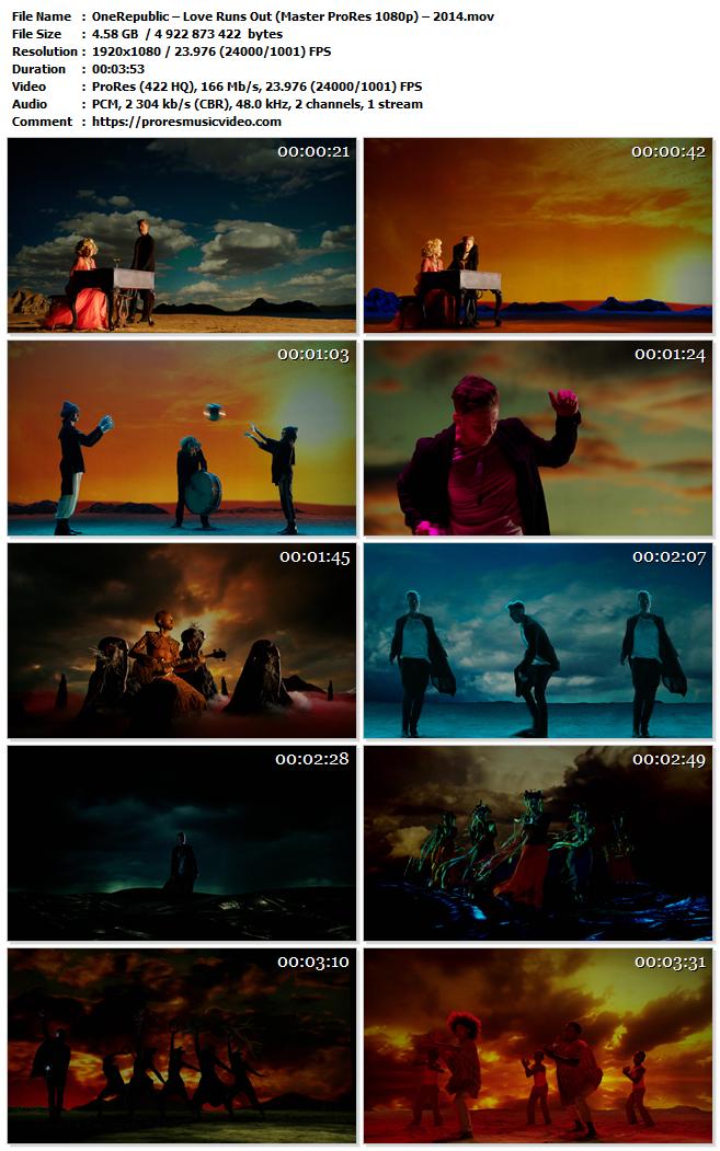 OneRepublic – Love Runs Out