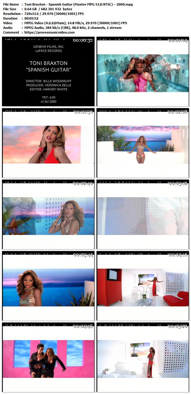 Toni Braxton – Spanish Guitar