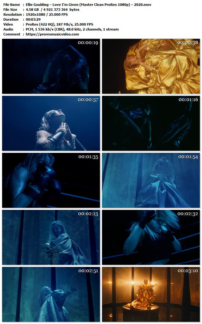 Ellie Goulding – Love I'm Given