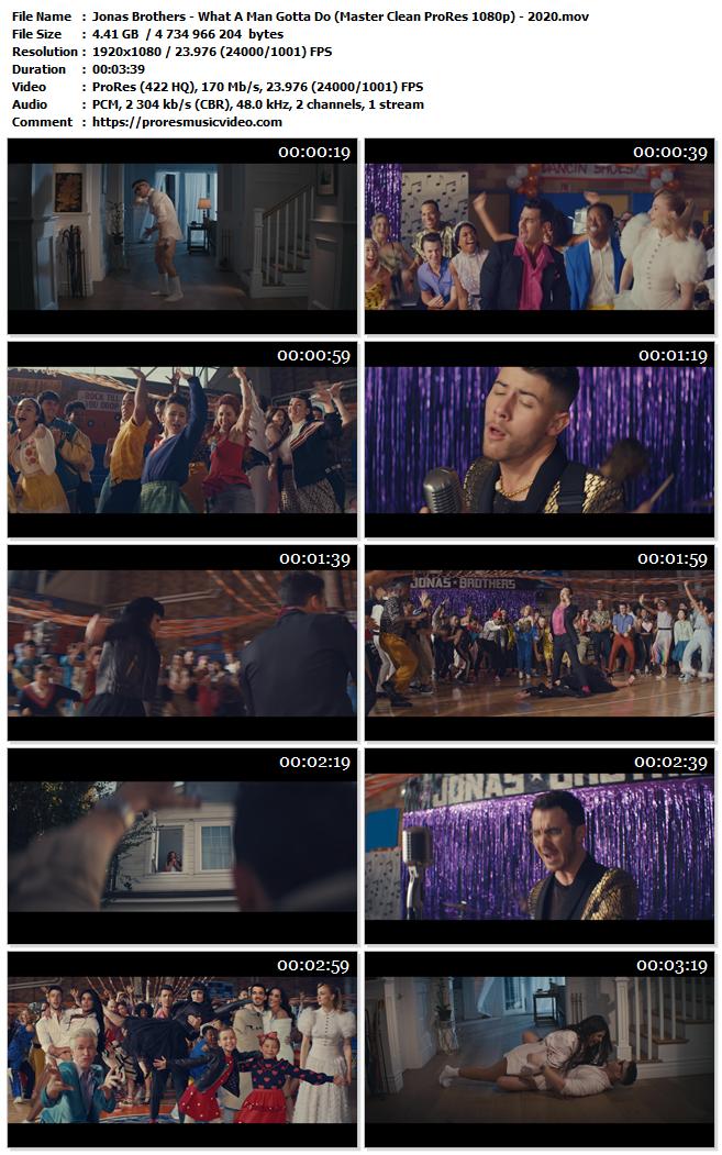 Jonas Brothers – What A Man Gotta Do (VIP)
