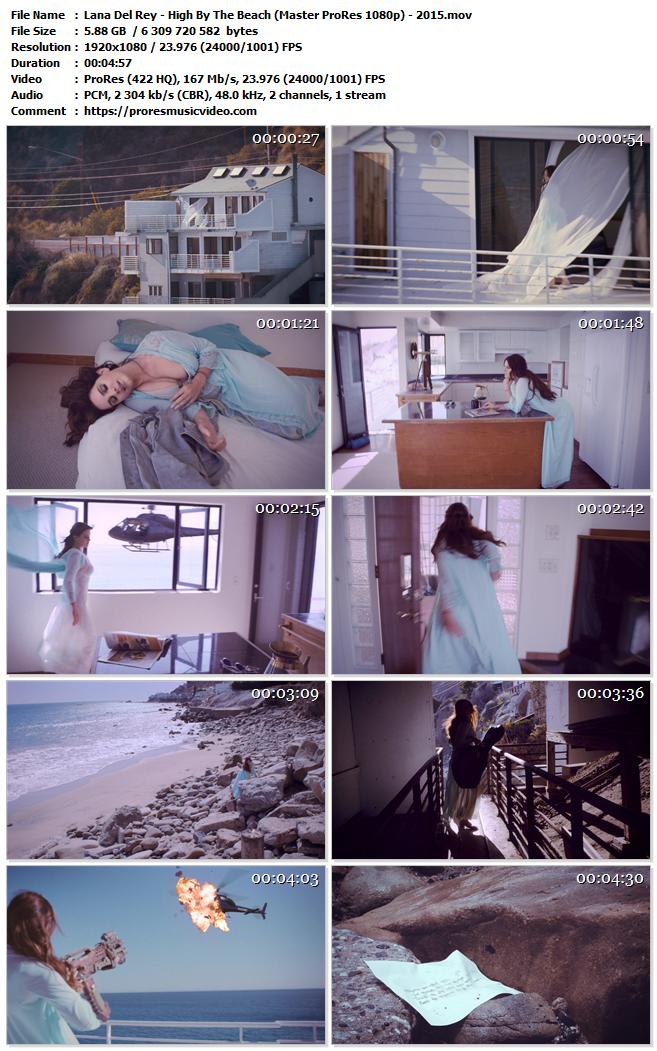 Lana Del Rey – High By The Beach (VIP)