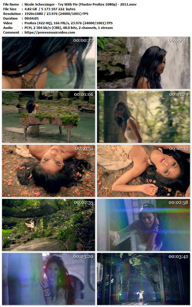 Nicole Scherzinger – Try With Me (VIP)