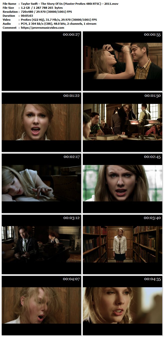 Taylor Swift – The Story Of Us