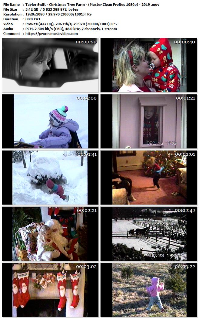 Taylor Swift – Christmas Tree Farm (Exclusive)