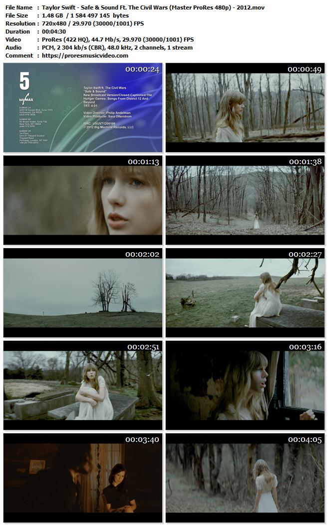 Taylor Swift Ft. The Civil Wars – Safe & Sound