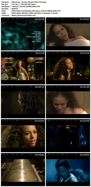 Alicia Keys – No One (Exclusive)