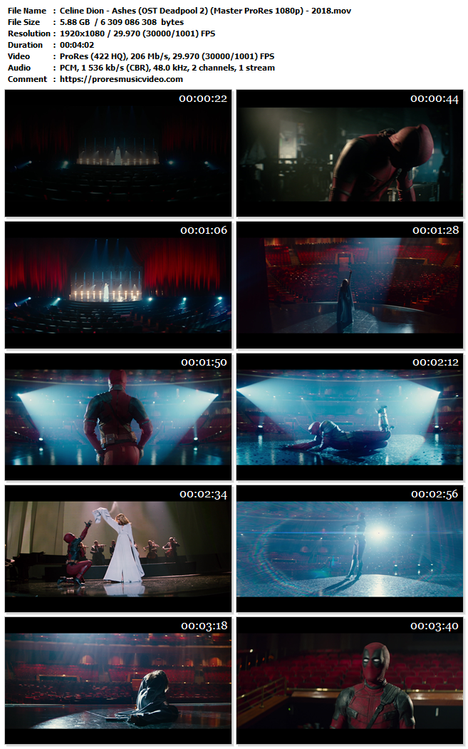 Celine Dion – Ashes (OST Deadpool 2) (VIP)