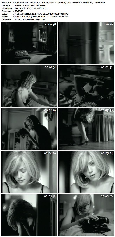 Madonna, Massive Attack – I Want You (1st Version)
