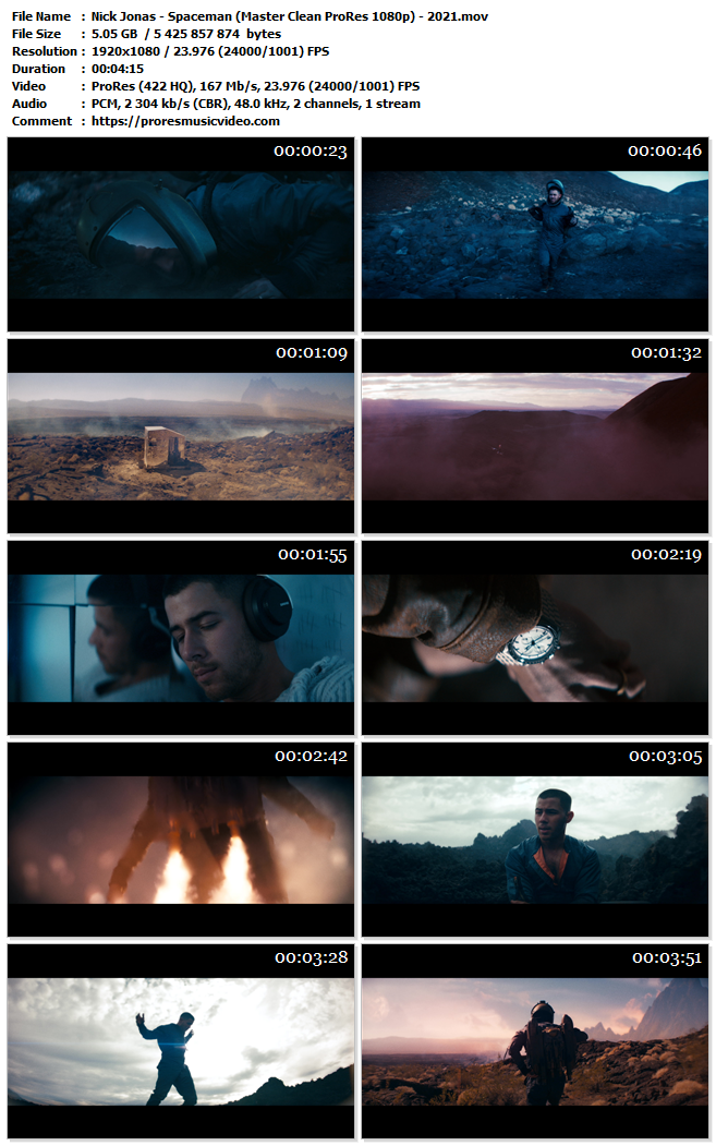 Nick Jonas – Spaceman (Exclusive)