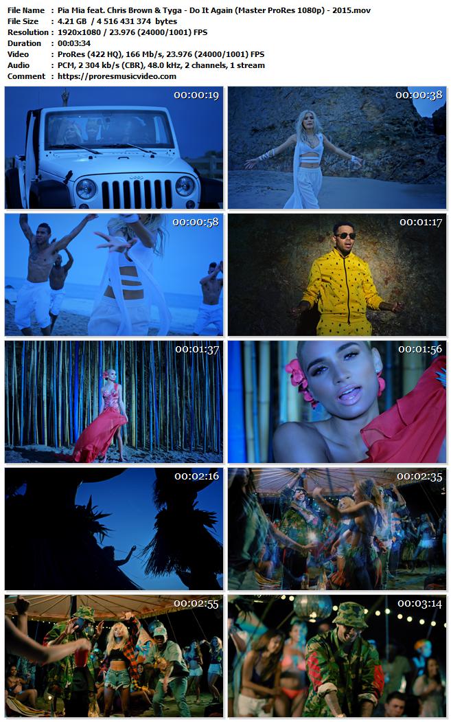 Pia Mia feat. Chris Brown & Tyga – Do It Again (Exclusive))