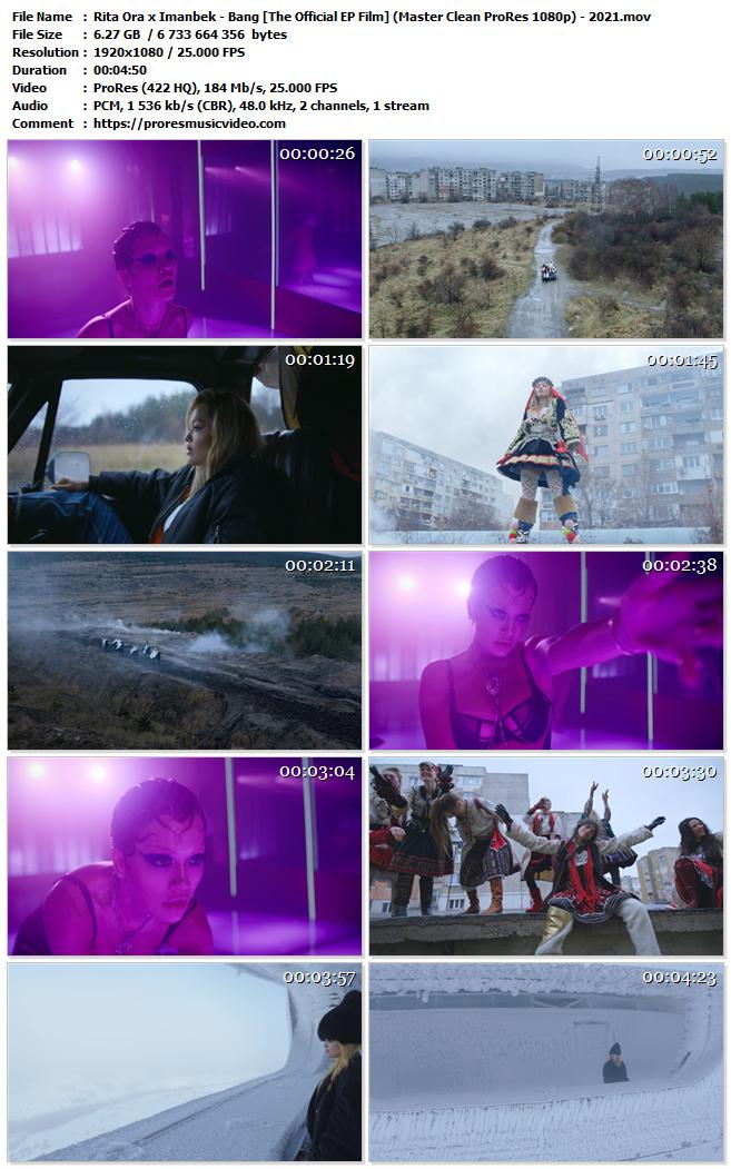 Rita Ora feat. Imanbek – Bang [The Official EP Film] (VIP)
