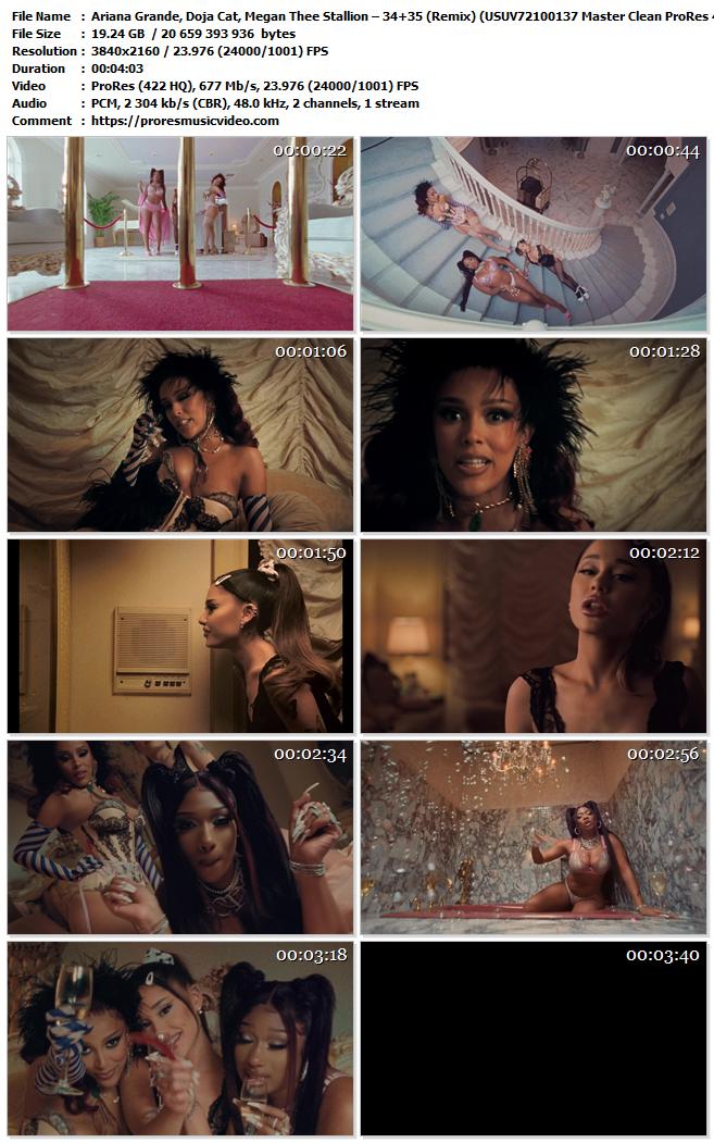 Ariana Grande, Doja Cat, Megan Thee Stallion – 34+35 (Remix) (VIP)