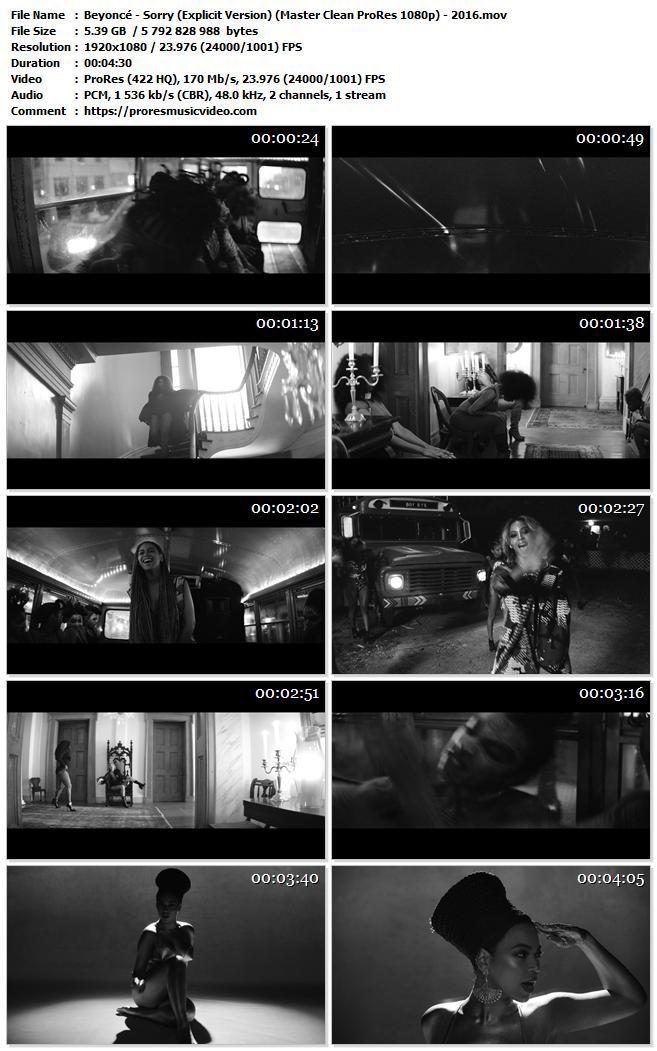 Beyoncé – Sorry (Explicit Version) (Exclusive)