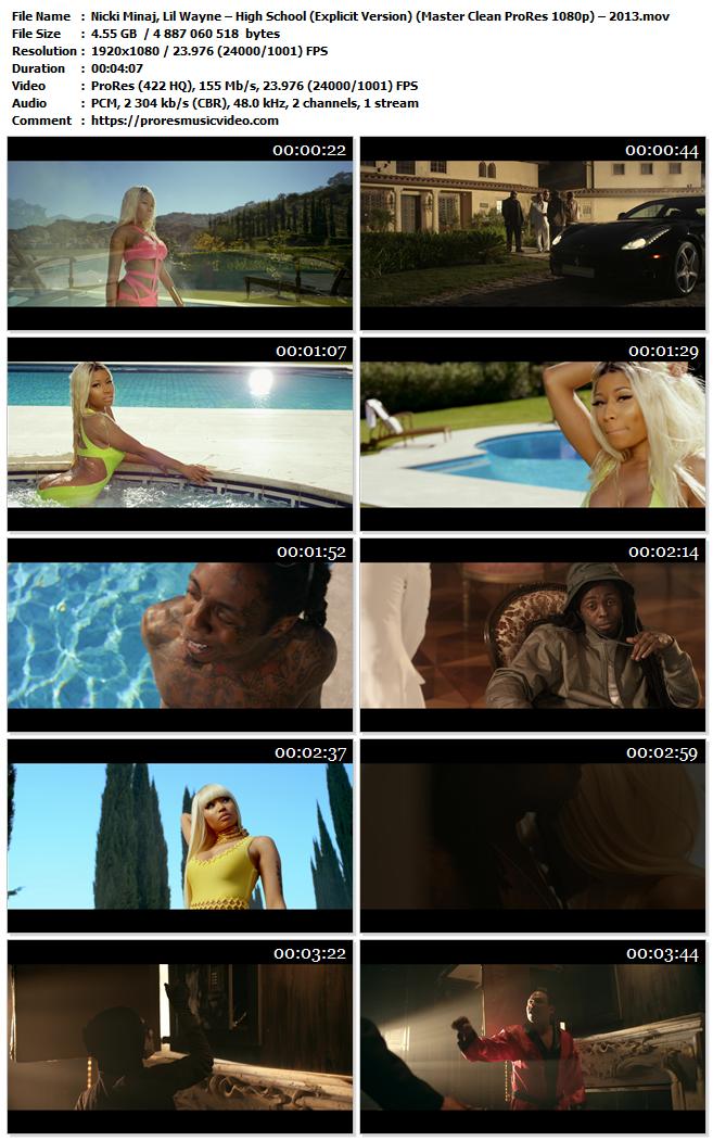 Nicki Minaj, Lil Wayne – High School (Explicit Version) (VIP)