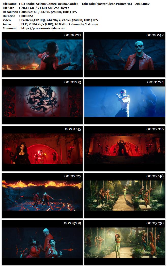DJ Snake, Selena Gomez, Ozuna, Cardi B – Taki Taki (Exclusive)