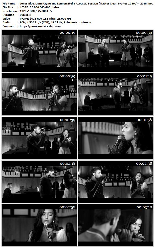 Jonas Blue, Liam Payne and Lennon Stella Acoustic Session