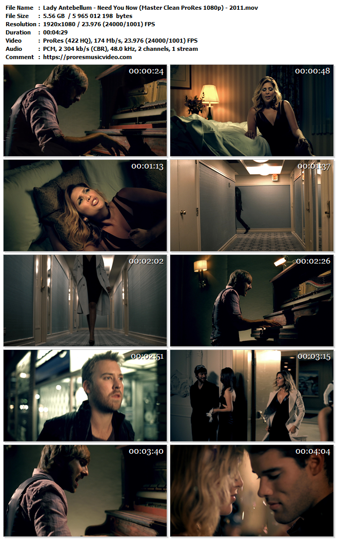 Lady Antebellum – Need You Now (Exclusive)
