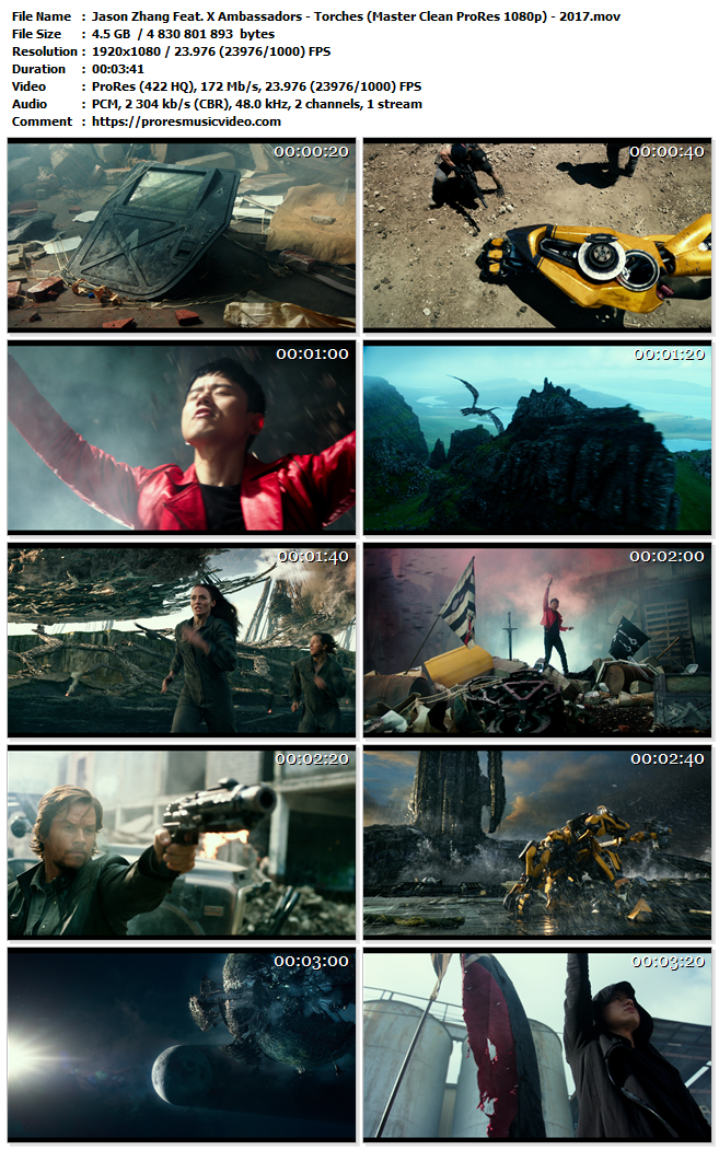 Jason Zhang Feat. X Ambassadors – Torches (Transformers The Last Knight Soundtrack) (VIP)