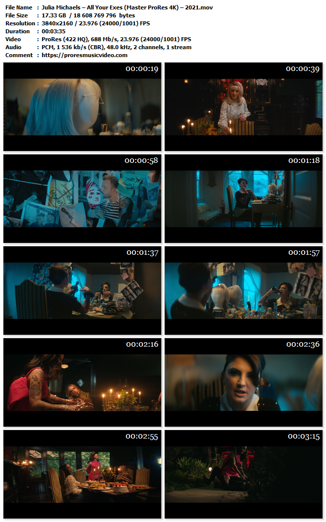 Julia Michaels – All Your Exes (VIP)