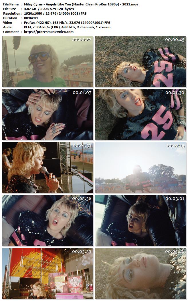 Miley Cyrus – Angels Like You (VIP)