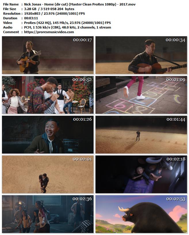 Nick Jonas – Home (Director's Cut)