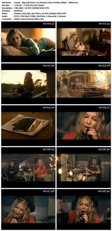 Fergie – Big Girls Don't Cry (VIP)