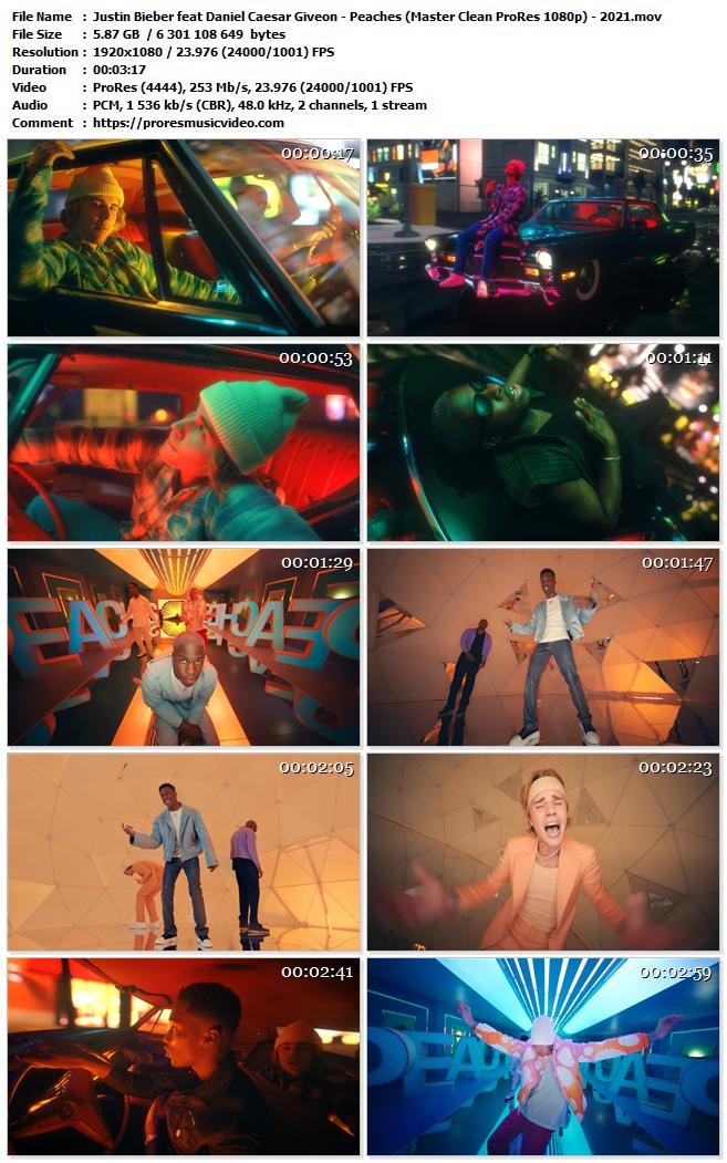 Justin Bieber feat Daniel Caesar Giveon – Peaches (VIP)