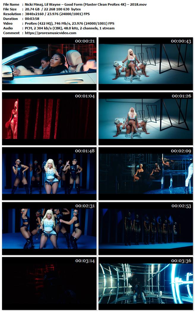 Nicki Minaj, Lil Wayne – Good Form (VIP)